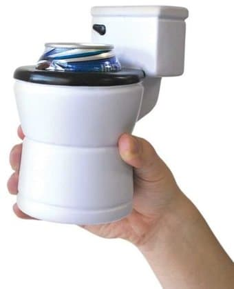 Funny Drink Kooler - The Toilet