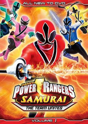 Power Rangers Samurai - Volume 1: The Team Unites