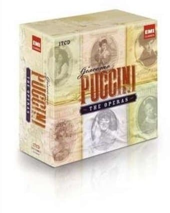 Puccini: The Operas (17-CDs)