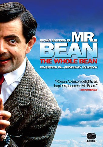 Mr Bean The Whole Bean 4 Dvd 2015 Television On