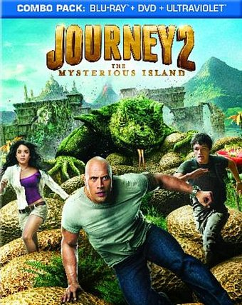 Journey 2: The Mysterious Island (Blu-ray + DVD)