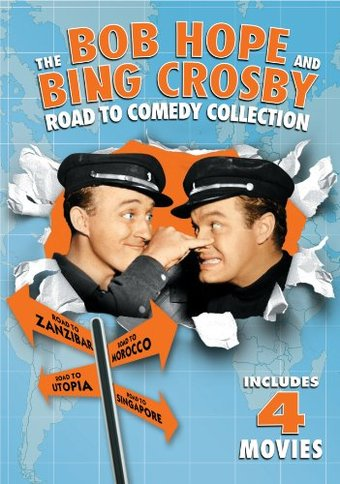 The Bob Hope and Bing Crosby Road to Comedy