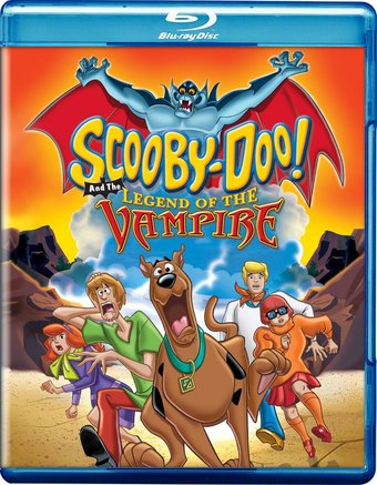 Scooby-Doo and the Legend of the Vampire (Blu-ray)