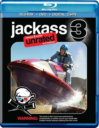 Jackass 3 (Blu-ray, Rated, Unrated, Includes