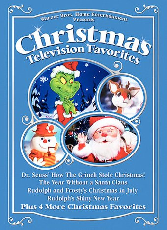 Christmas Television Favorites (4-DVD)