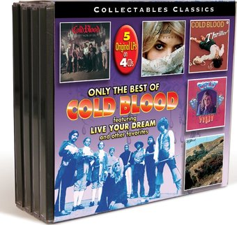 The Very Best Of Cold Blood (4-CD Bundle Pack)