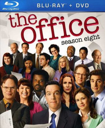 Office (USA) - Season 8 (Blu-ray + DVD)