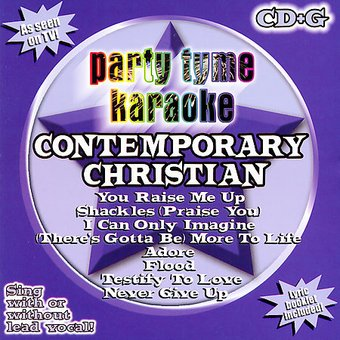 Party Tyme Karaoke: Contemporary Christian,