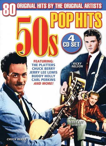 50s Pop Hits (4-CD)