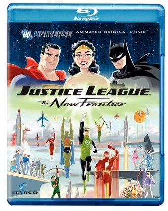 Justice League: The New Frontier (Blu-ray,