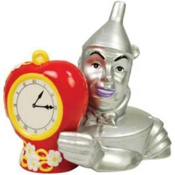Tin Man & Heart Salt & Pepper Shakers