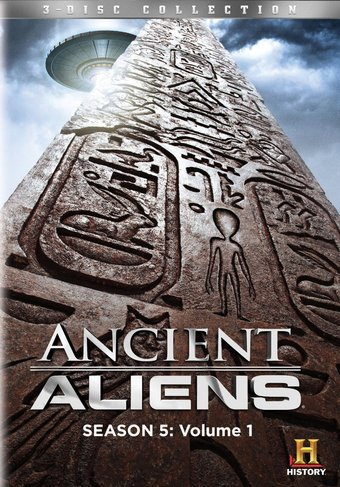 Ancient Aliens - Season 5 - Volume 1 (3-DVD)