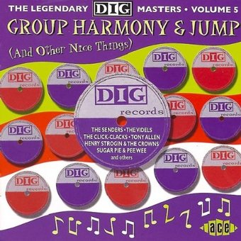 Group Harmony & Jump: Dig Masters, Volume 5