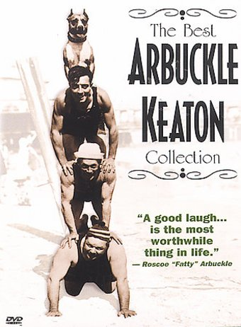 The Best Arbuckle / Keaton Collection (2-DVD)