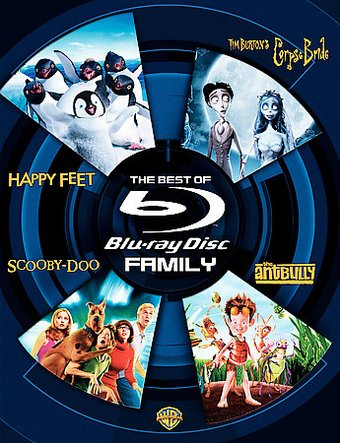 The Best of Blu-ray: Family (4-Disc Set)