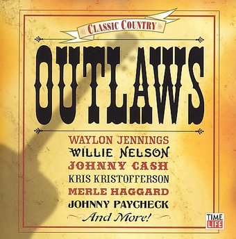 Classic Country Outlaws Cd 2006 Time Life Records