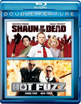 Shaun of the Dead / Hot Fuzz (Blu-ray)