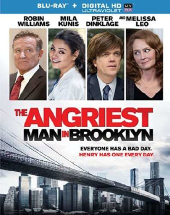 The Angriest Man in Brooklyn (Blu-ray)