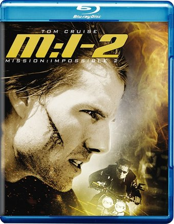 Mission: Impossible II (Blu-ray, Widescreen)