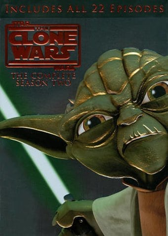 Star Wars: The Clone Wars - Season 2 (4-DVD)