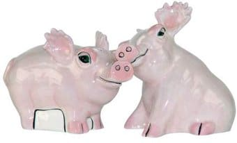 Safari Pigs - Salt & Pepper Shakers