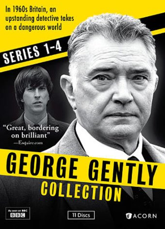 George Gently - Series 1-4 (11-DVD)
