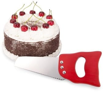 Lumberjack Saw Cake Knife