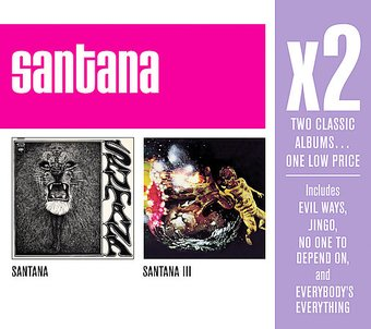 Santana / Santana III (2-CD Box Set)