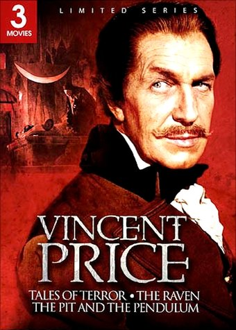 Vincent Price Triple Feature Gift Box (The Raven