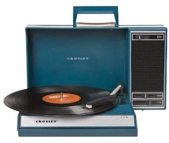 Crosley CR6016A-BL Spinnerette Portable USB