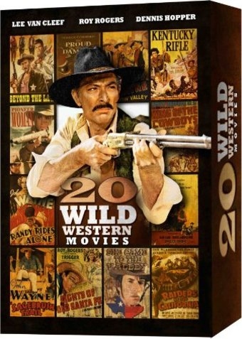 Wild Western Movies: 20-Film Collection (2-DVD)