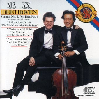Beethoven: Cello Sonata No. 4; Variations