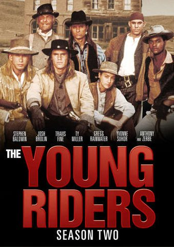 The Young Riders - Season 2 (4-DVD)