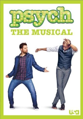 Psych The Musical Dvd 2013 Television On Starring