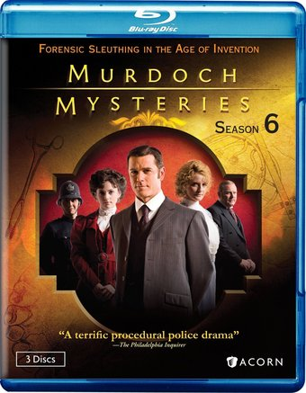 Murdoch Mysteries - Season 6 (Blu-ray)