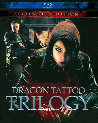 The girl with the dragon tattoo trilogy blu ray 2011 for Girl with dragon tattoo books in order