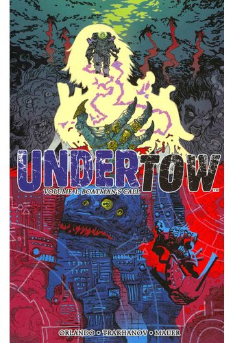 Undertow 1 Boatman S Call Book 2014 Image Comics