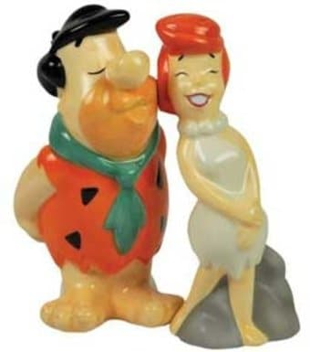 Fred & Wilma Salt & Pepper Shakers