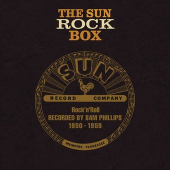 The Sun Rock Box 1950-1959 (8-CD + Book)