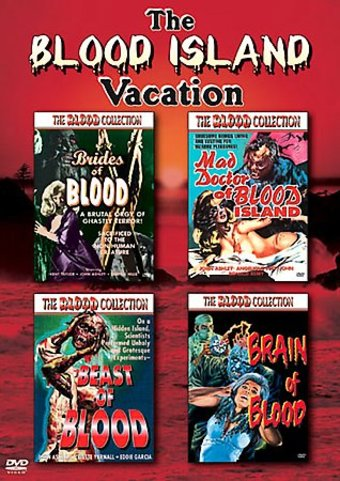 The Blood Island Vacation (4-DVD)
