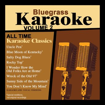 Bluegrass Karaoke, Volume 2