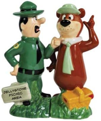 Yogi Bear - Ranger Smith & Yogi Bear Salt &