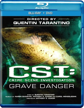 Grave Danger (Blu-ray + DVD)