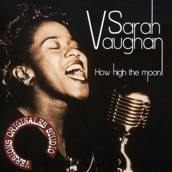 sarah vaughan how high the moon cd 2007 phantom sound vision. Black Bedroom Furniture Sets. Home Design Ideas