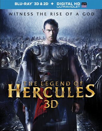 The Legend of Hercules (Blu-ray, 3D, Includes