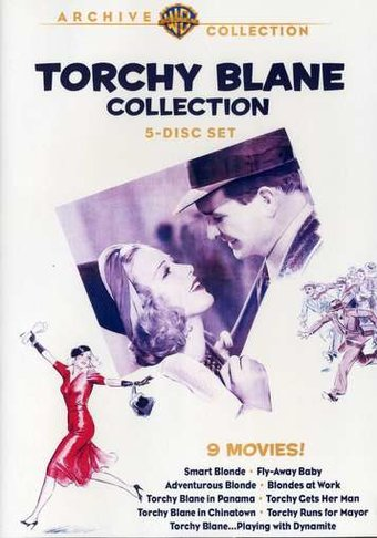 The Torchy Blane Collection, 1936-1939 (5-Disc)