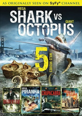 Mega Shark vs Giant Octopus / Momentum / Mega Piranha ...