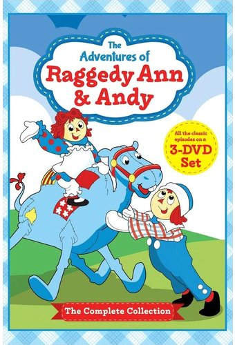 The Adventures of Raggedy Ann and Andy (3-DVD)