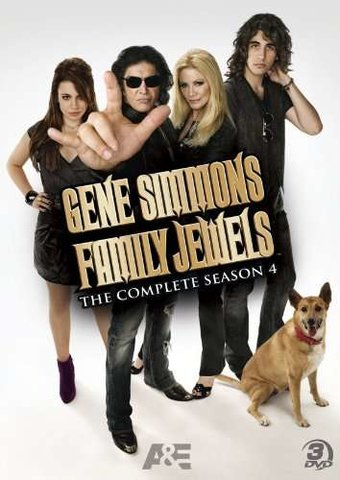 Gene Simmons Family Jewels - Season 4 (3-DVD)