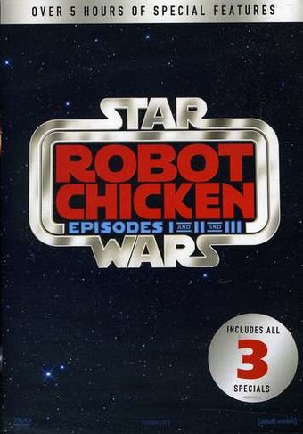 Robot Chicken - Star Wars I-III (3-DVD)